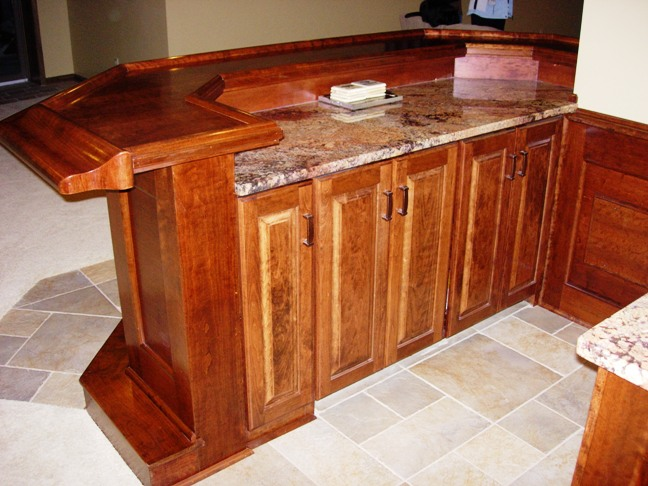 Custom Built Home Bar Ideas In Ohio