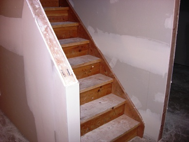 Cut open staircase