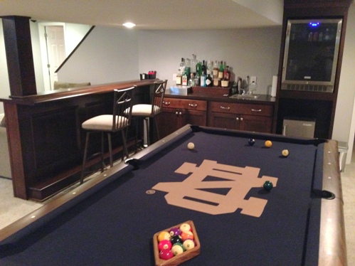 Photos and design ideas for small home bars for Pool designs yardville nj