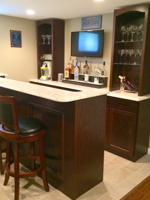 custom bar 2 level