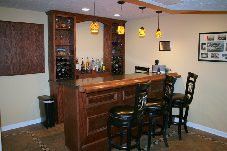 home bar staright 3 seat